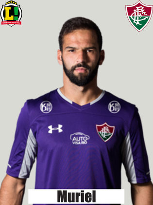 MURIEL - 6,5 - Não teve o que fazer nos gols do Palmeiras. Ainda evitou conclusões de Willian e Gustavo Scarpa.