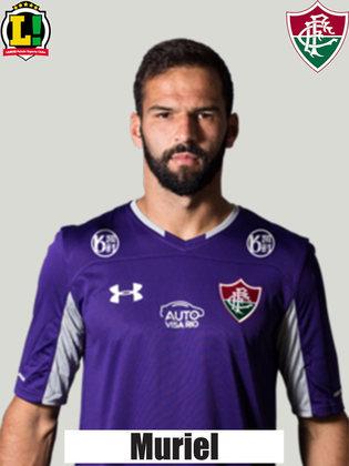 Muriel - 6,5 - O goleiro fez boas defesas durante a partida, garantindo a vitória para o Fluminense. Não teve culpa no gol do Internacional.