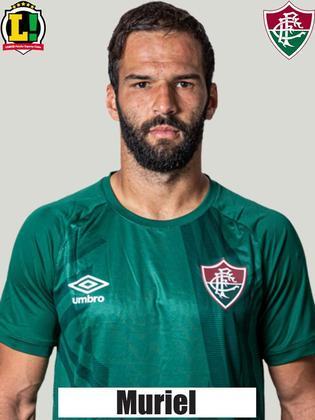 Muriel - 7,5 - Sem culpa no gol de Guilherme Arana, o goleiro operou uma bela sequência de defesas para evitar a virada relâmpago. Em seguida, realizou um milagre em finalização de Nathan na pequena área. Grande nome do Fluminense no jogo.