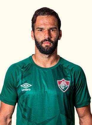 Muriel - goleiro - 34 anos - contrato até 31/12/2022