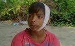 Apenas duas crianças sobreviveram, uma de 11 anos, com ferimento na cabeça, e outra de 5, que saiu ilesada tragédia