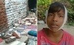 Um muro sacudido por macacos desabou sobre uma família emShahjahanpur, na Índia, deixando cinco mortos e dois feridosVeja também:Catástrofe! Mais de mil aves caem do céu ao se chocarem com edifícios