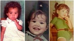 Veja fotos de madrinhas, rainhas e musas do Carnaval quando eram crianças ()