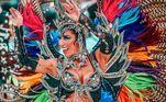 Tatiane Minerato voltou ao Carnaval paulistano como Musa da Águia de Ouro na edição passada. Em 2018, vale lembrar, a modelo foi afastada da Gaviões da Fiel após desentendimento com uma integrante da escola. Em conversa com o R7, contou que 2021 está sendo um ano