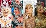 As musas são sempre atrações à parte durante o Carnaval no Brasil. No ano passado, Lorena Improta, que desfilou pela campeã Viradouro, no Rio de Janeiro, brilhou na folia e