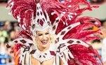 Lorena Improta foi um dos grandes destaques no ano passado. A musa da Viradouro, escola campeã do Carnaval do Rio de Janeiro, mostrou ser