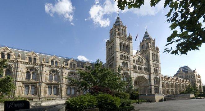 O mineral foi descoberto dentro de uma rocha que está no Museu de História Natural de Londres desde 1964