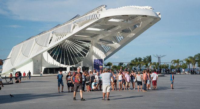 Museu do Amanhã, no Rio, está entre as instituições que contam com a lei