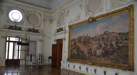 Quadro Independência ou Morte é uma pintura do artista brasileiro Pedro Américo