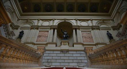 O Museu do Ipiranga está fechado desde 2013 para restauração e ampliação