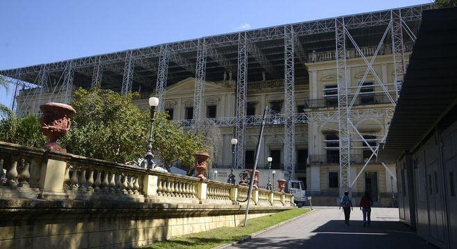 Museu Nacional pegou fogo no dia 2 de setembro de 20018