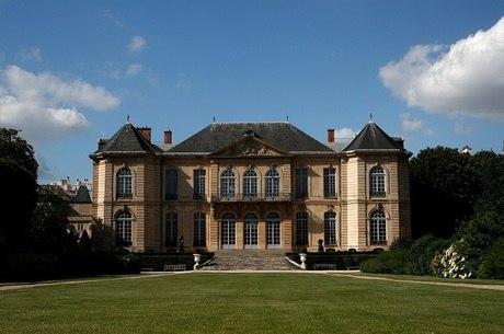 Jardim do Museu Rodin em Paris