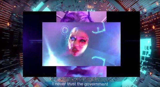 """Grimes lança """"My Name is Dark"""" em clima de balada futurista; ouça"""