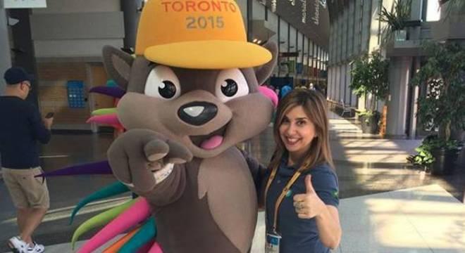 Mylena Ciribelli no Pan-Americano de Toronto, em 2015