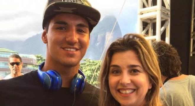 Mylena acumulou encontro com personalidades do esporte, como Gabriel Medina