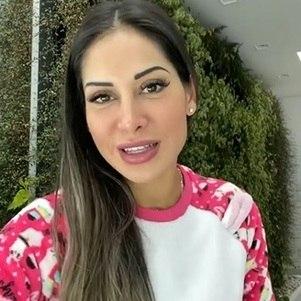 Mayra disse que se recuperou de miringite