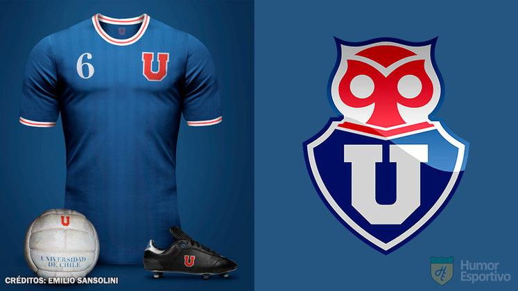 Na 33ª colocação e a camisa chilena mais cara, temos a camisa da Universidad de Chile, que custa 55,89 dólares, o que equivale a 42.990 pesos chilenos. Sua fornecedora é a Adidas.