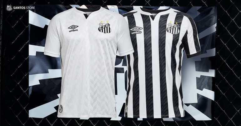 Na 48ª posição, está a camisa do Santos, que custa 54,59 dólares, equivalente a 259,99 reais. Quem faz as camisas é a Umbro.