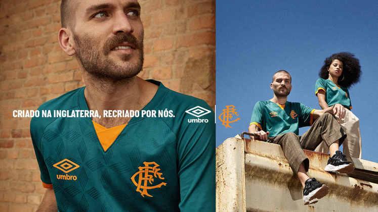 Na 51ª posição, está a camisa do Fluminense, que custa 51,99 dólares, o que equivale a 259,90 reais, A Umbro é sua fornecedora.