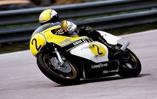 Na Alemanha, em 1978, Kenny Roberts tornou-se o primeiro campeão norte-americano na categoria