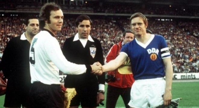 Na campanha de 74, a Alemanha Ocidental foi derrotada pela Oriental por 1 a 0