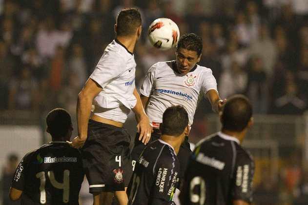 Na campanha vitoriosa da Libertadores de 2012, o Corinthians teve que passar por rivais brasileiros. Nas quartas de final, o Timão eliminou o Vasco, com placar agregado de 1 a 0.