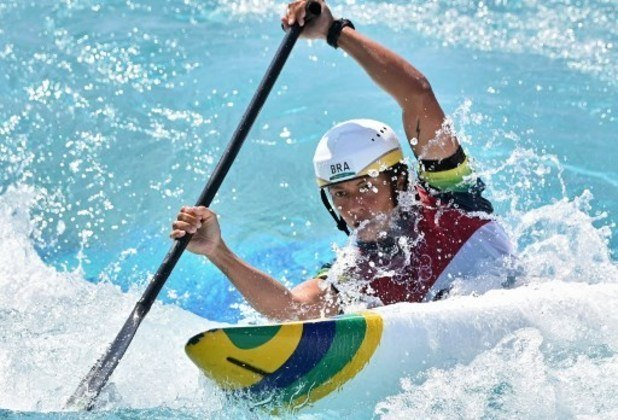 Na canoagem, Ana Satila ficou em quarto lugar no slalom C-1 - feminino. Mallory Franklin, da Grã-Bretanha foi quem chegou em primeiro.