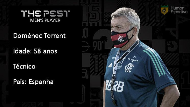 Na categoria de técnicos, Dome não agradou com seu trabalho à frente do Flamengo