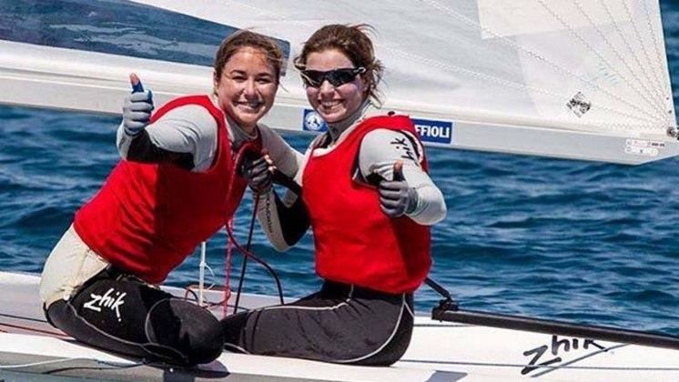 Na classe 470 da vela, Ana Barbachan e Fernanda Oliveira fazem as regatas 3 e 4, no mesmo horário.