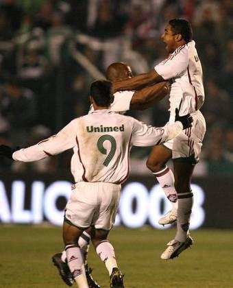 Na decisão da Copa do Brasil 2007, o Tricolor havia empatado no Maracanã por 1 a 1 com o Figueirense e precisava da vitória. O gol saiu logo no início, marcado por Roger, atualmente técnico do Bahia