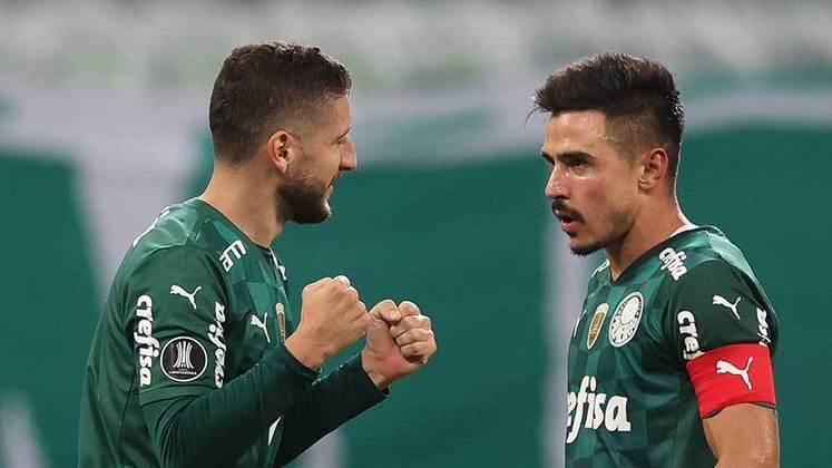 Na derrota do Palmeiras para o Defensa y Justicia, no Allianz Parque, o Verdão teve dois destaques principais: Zé Rafael e Gustavo Scarpa. Ambos fizeram gol e deram assistências (notas por Nosso Palestra)