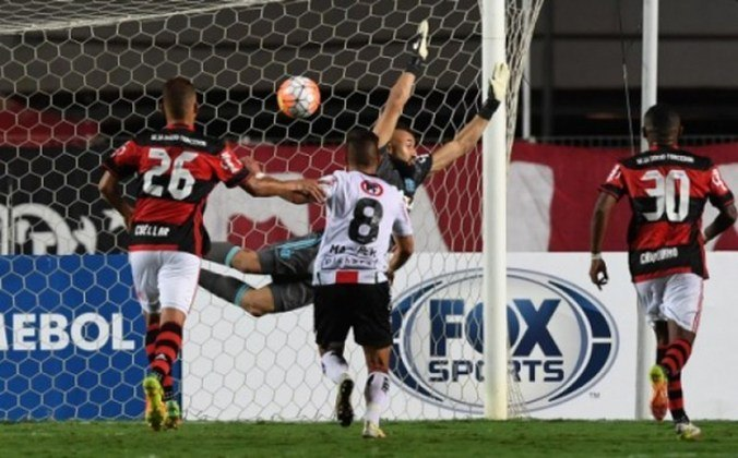 Na edição da Copa Sul-Americana de 2016, o Flamengo chegou às oitavas de finais e enfrentou o Palestino, do Chile. Após vencer fora de casa por 1 a 0, a equipe mandou o segundo jogo para Cariacica e perdeu por 2 a 1 sendo eliminado da competição.