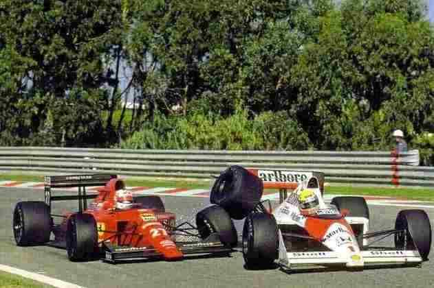 Na edição de 1989, Nigel Mansell, já desclassificado, provocou um acidente com Ayrton Senna, que brigava pelo título e era segundo colocado