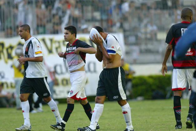 Na edição de 2008, o Vasco teve 40 pontos em 38 jogos. O total do aproveitamento foi de 35,08%.