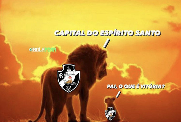 Na estreia de Ricardo Sá Pinto à frente do time, o Vasco sofreu sua quinta derrota consecutiva no Brasileirão e não escapou dos memes dos rivais. Veja na galeria! (Por Humor Esportivo)