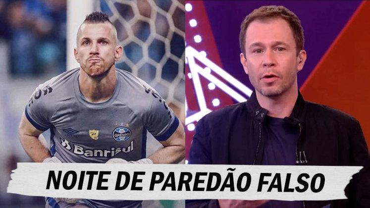 Na final da Copa do Brasil, goleiro do Grêmio falhou nos dois gols do Palmeiras e web não perdoou nas zoeiras. Confira as melhores na galeria! (Por Humor Esportivo)