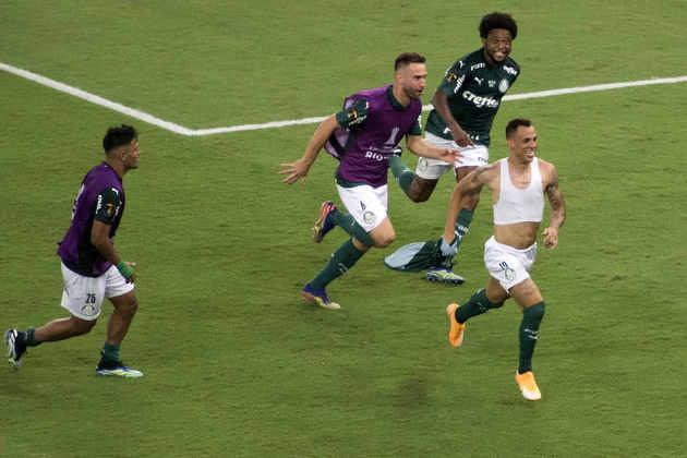 Na final da Libertadores de 2020, disputada só em 2021 por conta da pandemia, o Palmeiras enfrentou o Santos, em jogo único, e venceu por 1 a 0, com gol de Breno Lopes, em pleno Maracanã, se tornando bicampeão da América.