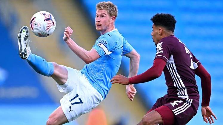 Na goleada do fim de semana para o Leicester, Vardy foi o destaque do confronto com três gols. Maddison e Tielemans completaram o marcador. Mahrez e Nathan Aké descontaram para o time dirigido por Pep Guardiola.