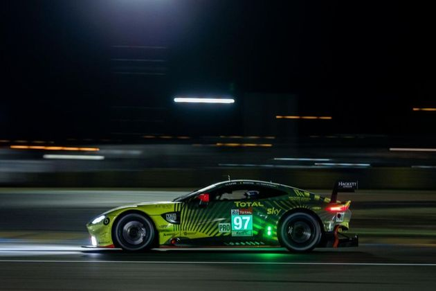 Na GTE-Pro, a vitória ficou com o Aston Martin #97