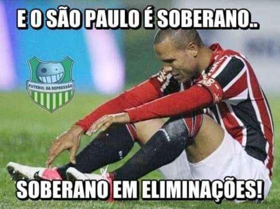 Na Libertadores de 2015, mais uma frustração: o Cruzeiro foi o algoz da vez, eliminado o Tricolor nos pênaltis