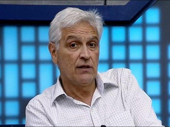 """Na Libertadores de 2021, o comentarista Fábio Sormani prometeu """"andar pelado"""" por uma semana caso o River Plate eliminasse o Palmeiras na semifinal do torneio."""