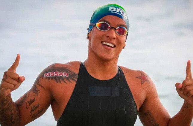 Na maratona aquática, Ana Marcela chega ao Japão com dez medalhas em campeonatos mundiais e é favorita a estar no pódio nos 10km.