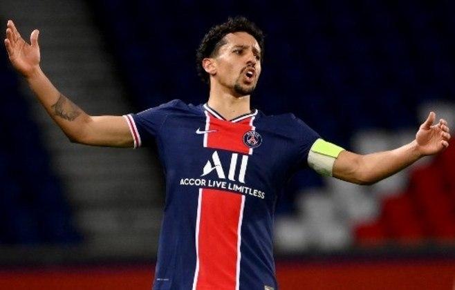 NA MÉDIA - Marquinhos foi importante ao dar uma assistência para Danilo Pereira no duelo contra o Lyon e fez partida segura na defesa