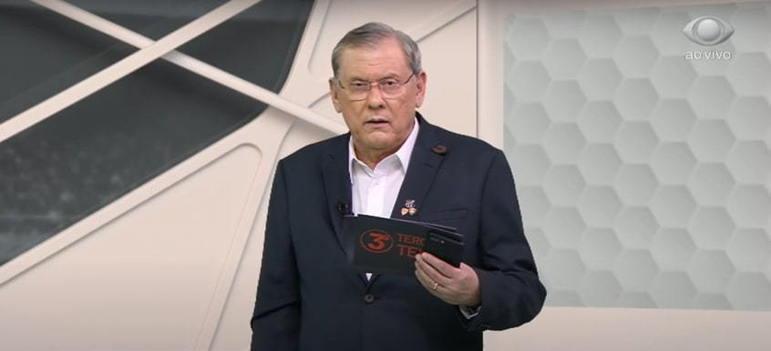 Na mesma entrevista, ele disse que 'Nunca teve, não tem e não vai ter um apresentador esportivo de rádio quanto o Milton Neves ou melhor que o Milton Neves'.
