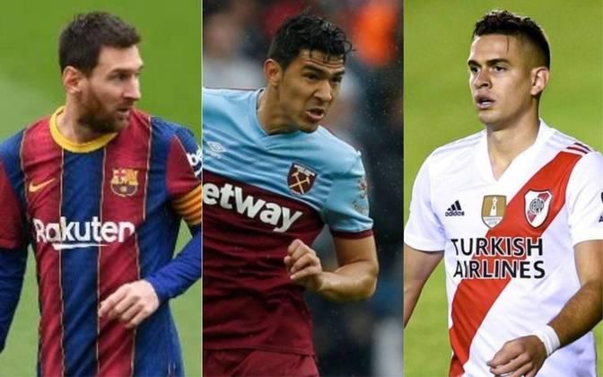 Na mudança de uma temporada para outra na Europa e na Argentina, diversos contratos terminam nesta quarta-feira (30). Muitos jogadores interessantes, incluindo Lionel Messi, estão ficando livres no mercado. Os atletas ainda podem assinar uma renovação, mas o fato é que eles agora estão perto de sair, se é que já não saíram