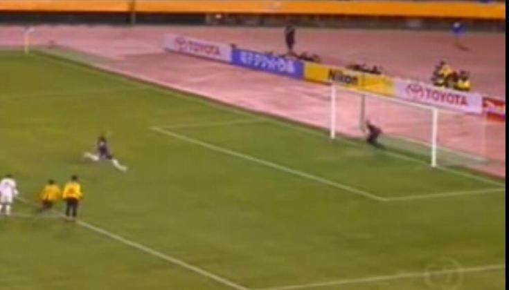 Na ocasião, Ceni cobrou o pênalti no canto direito do goleiro, mas chutou alto o bastante para que, nem com o salto, Zaid conseguisse defender a cobrança.