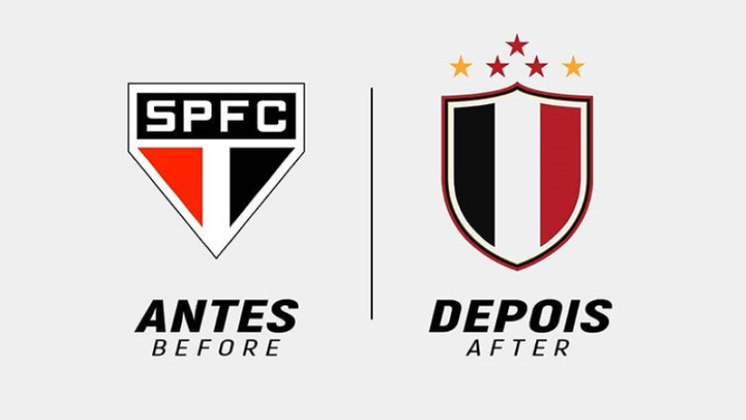 Na onda do Vasco... Designer mostra proposta de escudos modernizados de clubes. Confira!