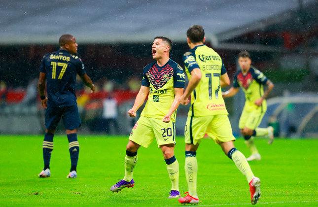 Na outra semifinal da Liga dos Campeões da Concacaf, o América (MÉX) venceu o Philadelphia Union (EUA) em casa por 2 a 0 e abriu uma boa vantagem para chegar à final.