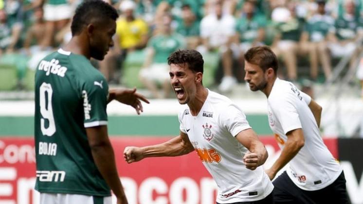 Na primeira fase do Paulistão de 2019, o Corinthians venceu o Palmeiras, no Allianz Parque, por 1 a 0, gol marcado por Danilo Avelar ainda no primeiro tempo.
