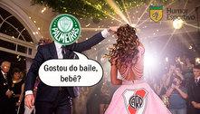 Que baile! Os melhores memes do massacre do Palmeiras no River